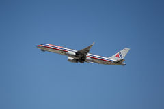 American Airlines Boeing 757-223 Royalty-vrije Stock Afbeeldingen
