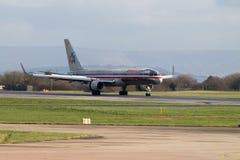 American Airlines Boeing 767 Royaltyfri Fotografi