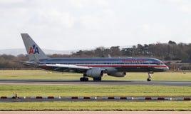 American Airlines Boeing 767 Royaltyfria Bilder