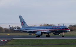 American Airlines Boeing 767 Image stock