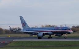 American Airlines Boeing 767 Fotografering för Bildbyråer
