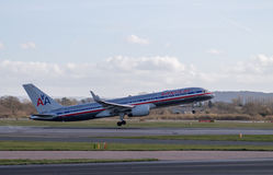 American Airlines Boeing 767 Arkivbilder