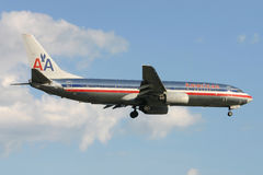 American Airlines Boeing 737 Royalty Free Stock Photo