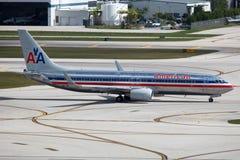 American Airlines Boeing 737-800 Royaltyfri Foto