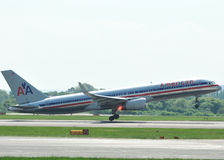 American Airlines Boeing 757 Immagini Stock