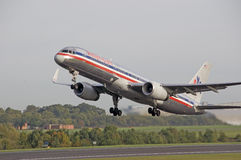 American Airlines Boeing 757 Royalty Free Stock Photography