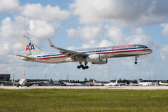 American Airlines Boeing 757 Stock Photography