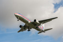 American Airlines Boeing 767 Royalty Free Stock Photo