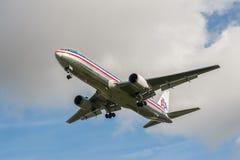 American Airlines Boeing 767 Photo libre de droits