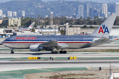 American Airlines Boeing 767-223 Photo stock