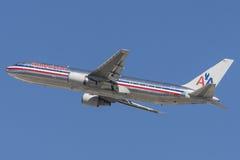 American Airlines Boeing 767-300 Photos libres de droits