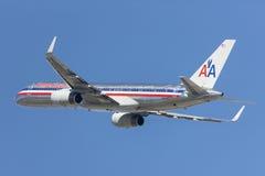 American Airlines Boeing 757 avions décollant de l'aéroport international de Los Angeles Photos libres de droits