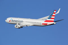 American Airlines Boeing 767-300 stock images