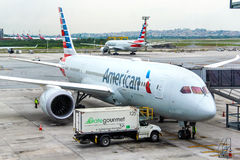 American Airlines Boeing 787-8 Dreamliner Photo libre de droits