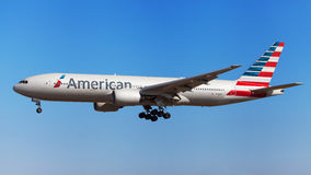 American Airlines Boeing 777-200ER Image stock