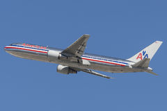 American Airlines Boeing 767-300 Royalty Free Stock Photos