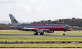 American Airlines Boeing 767 Royalty Free Stock Images
