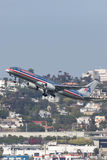 American Airlines Boeing 757-223 N619AA San de départ Diego International Airport Photo libre de droits