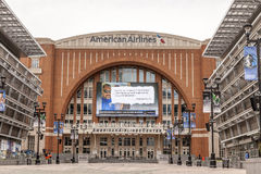 American Airlines Center in Dallas, USA Royalty Free Stock Images