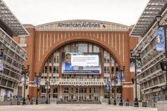 American Airlines centra-se em Dallas, EUA Imagens de Stock Royalty Free