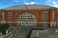 American Airlines concentra a Dallas, il Texas Immagine Stock Libera da Diritti