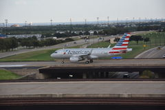 American Airlines at Dallas-Fort Worth International Airport in Texas Stock Photo