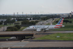American Airlines at Dallas-Fort Worth International Airport in Texas. (USA Stock Photography