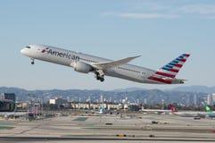 American Airlines Dreamliner Lizenzfreie Stockbilder