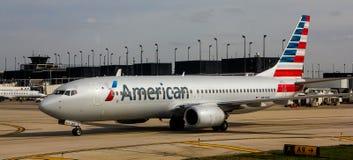 American Airlines echa en chorro Fotos de archivo