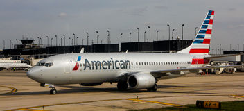 American Airlines jet Stock Photos