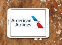 American Airlines logo Royaltyfria Bilder