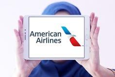 American Airlines logo Fotografering för Bildbyråer