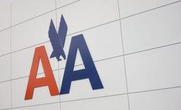 American Airlines logo Royaltyfri Bild