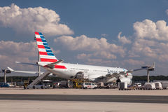American Airlines-Luchtbus A330-243 Stock Foto