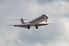 American Airlines McDonnell Douglas DC-9-82 (MD-82) Obraz Stock