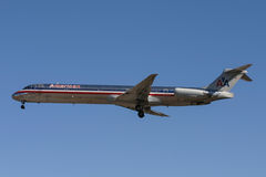 American Airlines MD-80 Aircraft Stock Image