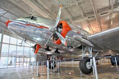 American Airlines Museum Royalty Free Stock Image