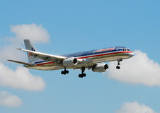 American Airlines passenger jet Stock Photos
