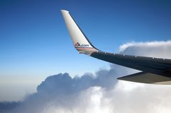 American Airlines plane Royalty Free Stock Photo