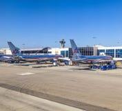 American Airlines stråle Boeing 767 Arkivbild