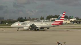 American Airlines voyagent en jet clips vidéos