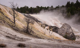 Mammoth Falls Royalty Free Stock Photography