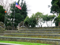 American Ampitheater. Ampitheater in Causland Memorial Park, Anacortes, Washington state Royalty Free Stock Photography