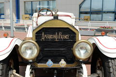 American antique car produced by the American La France. Stock Photo