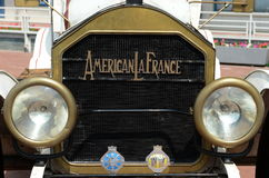American antique car produced by the American La France. Stock Image