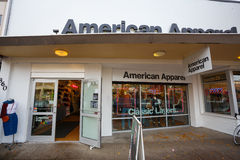 American Apparel Eugene Oregon Image stock