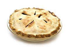 American Apple Pie. A homemade apple pie that I made and it was delicious Royalty Free Stock Image