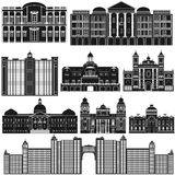 American Architecture Royalty Free Stock Photo