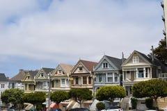 Painted Ladies, San Francisco, California royalty free stock photo