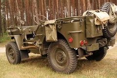 American army car Royalty Free Stock Image